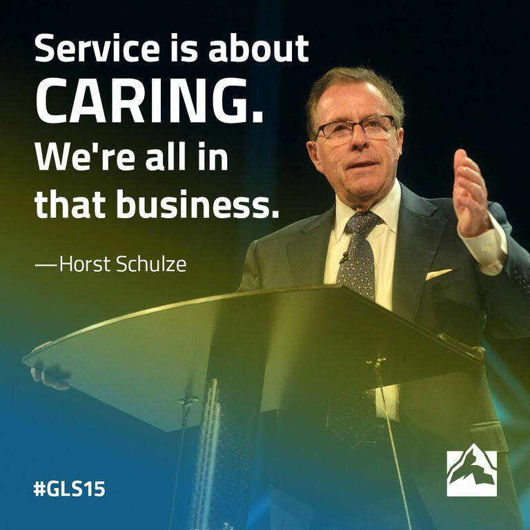 Leadership Is Creating An Environment In By Horst Schulze